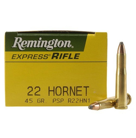 Remington 22 Hornet 45gr PSP