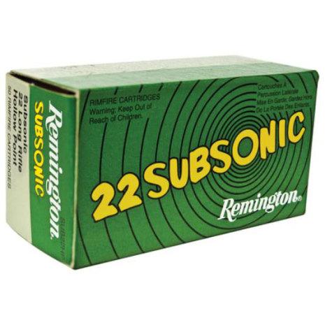 Remington 22LR Subsonic HP