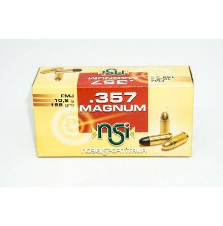 NSI 357 Magnum 10,2g FMJ-FP
