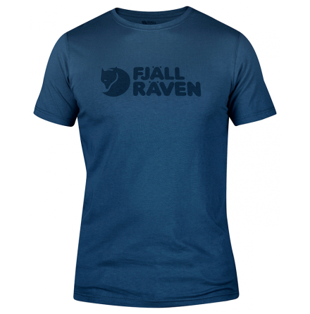 Fjällräven Logo T-Shirt Uncle Blue