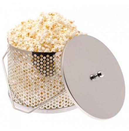 Popcorngryta rostfri Espegard