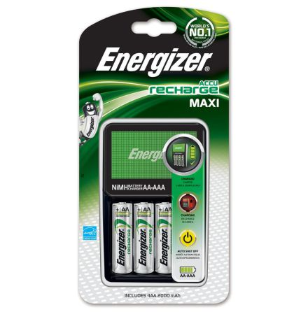 Energizer Batteriladdare MAXI ink 4 AA