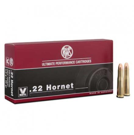 RWS .22 Hornet 3g Soft Point