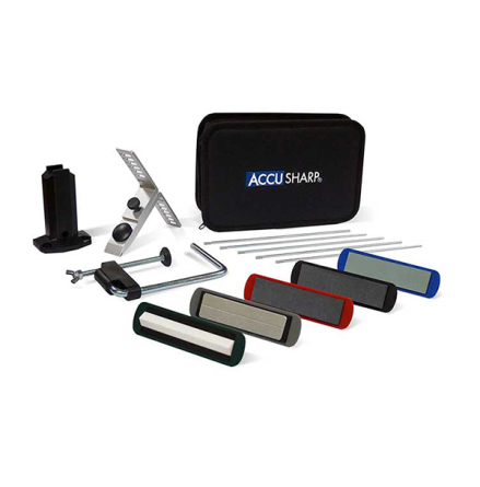 Accusharp 5 Stone Precision Knife Sharpening Kit