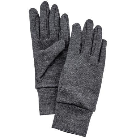 Hestra Heavy Merino 5-Finger Grå