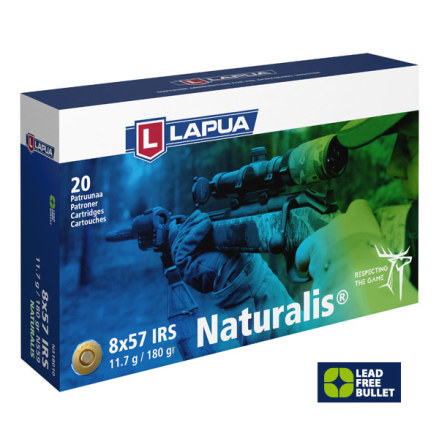 Lapua 8x57 JS Naturalis 11,6 g