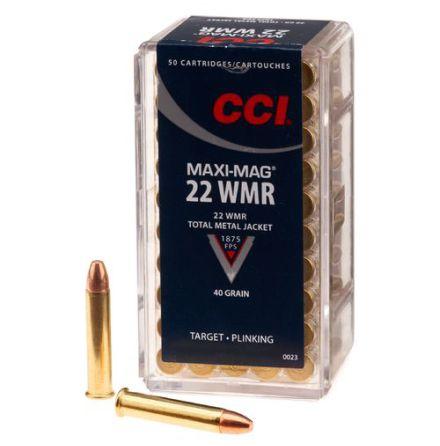 CCI 22 WM Maxi-Mag FMJ