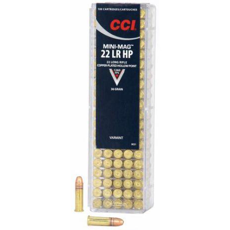 CCI 22LR Mini-Mag HP