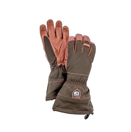 Hestra Hunters Gauntlet CZone 5 Finger Dark Forest