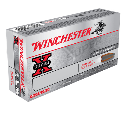 Winchester .22-250 Rem 55gr PSP
