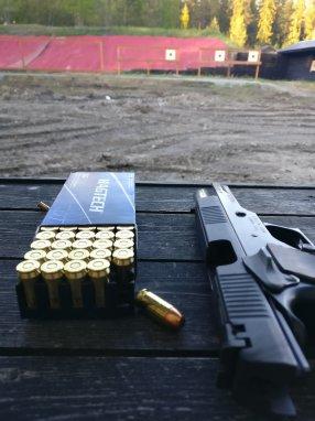 Lite om pistolskytte