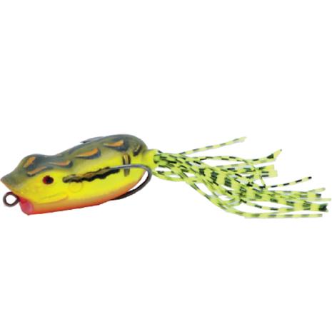Stoxdal Popp Frog Gul/Brun 70mm 13g