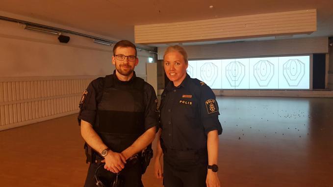Utbildningsdagar med Polisen i skjutbiografen