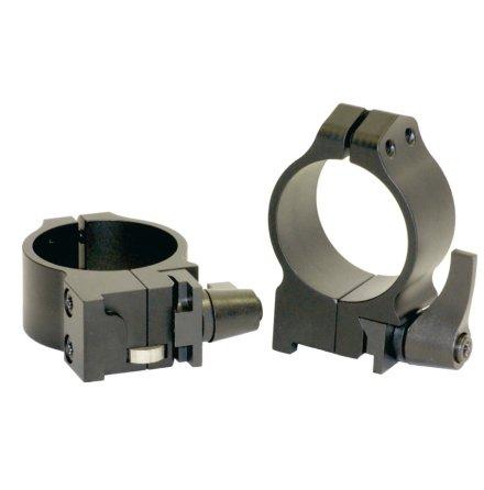 Warne 30mm Ringar QD Ruger