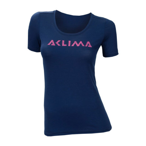 Aclima Lightwool Logo T-Shirt Dam