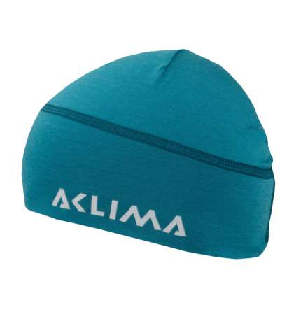 Aclima Lightwool Beanie Harbour Blue