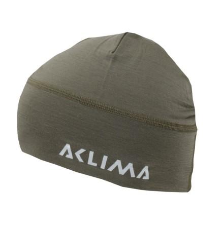 Aclima Lightwool Beanie Ranger Green