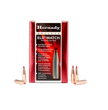 Hornady kula 6,5 123gr ELD Match