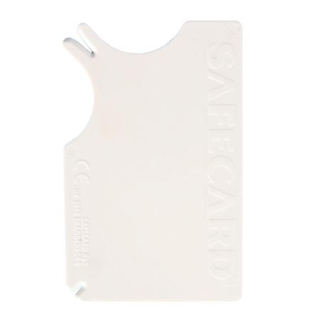 Fästingplockare Safecard, 8x5cm i kreditkortsformat
