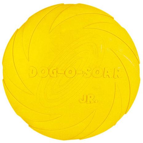 Hundleksak Frisbee i naturgummi, flytande
