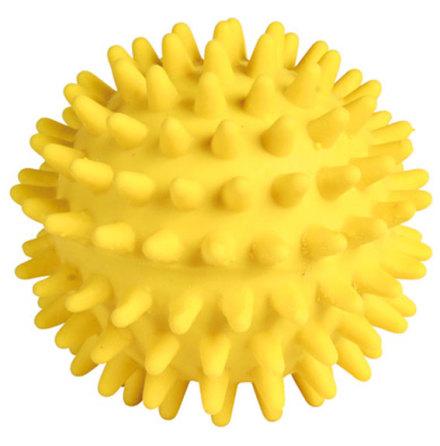 Hundleksak Igelkottsboll i latex, ø 7 cm