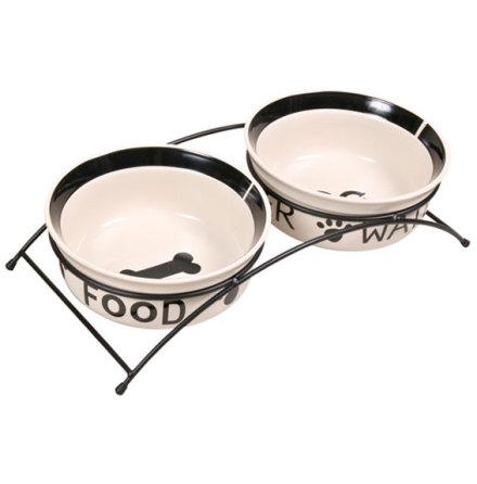 Matbar med 2st Keramikskålar 1,6 L