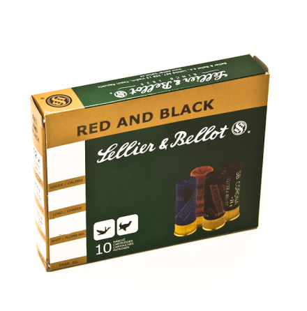 Sellier & Bellot Red and Black 20/27/US3