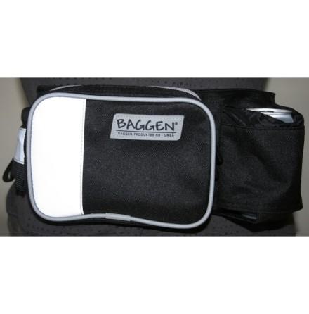 Baggen Softbelt Väska Reflex Svart