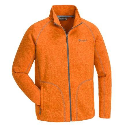 Pinewood Gabriel Fleecejacka Vibrant Orange Melerad