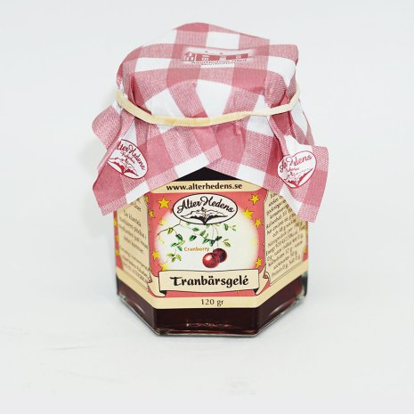 Alterhedens Tranbärsgelé 120g