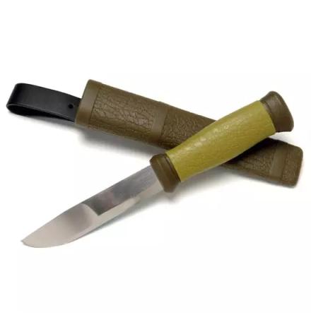 Mora 2000 Jakt-Fiske kniv Grön