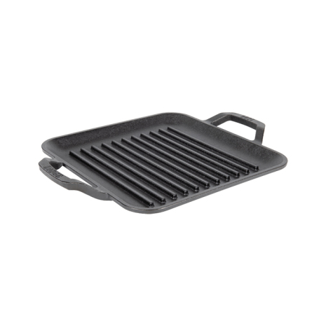 Lodge Cast Iron Chef Style Square GrillPan