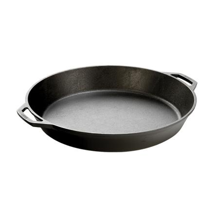 Lodge Cast Iron Pan 43cm Dual Handle