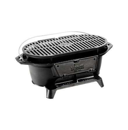 Lodge Cast Iron Sportmans Grill