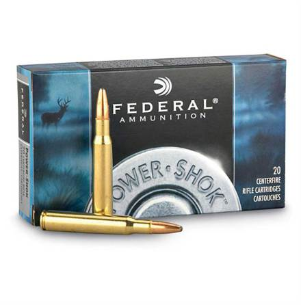 Federal 30-06 180grain SP Power-Shook