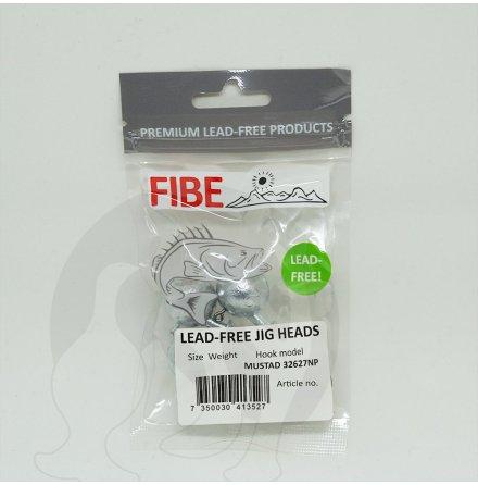 Fibe Jigghuvud 4/0 28gr BLYFRITT 3-pack