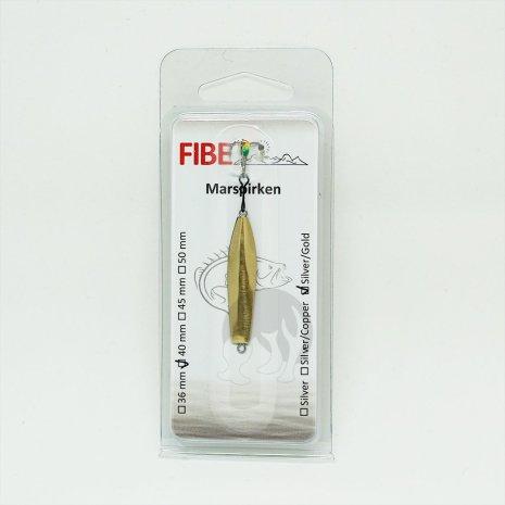 Fibe Marspirken 40mm Silver/Guld