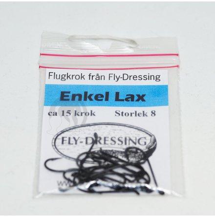 Flydressing Enkel Laxkrok #8