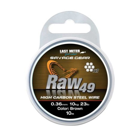 Savage Gear Raw49 0.45mm 15kg Uncoated