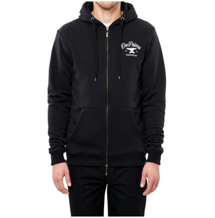 DePalma Workwear Anvil Zip Hood Navy