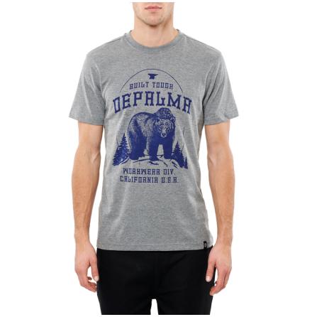 DePalma Workwear Better Days T-Shirt Grey Melange