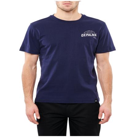 DePalma Workwear Bison T-Shirt Navy