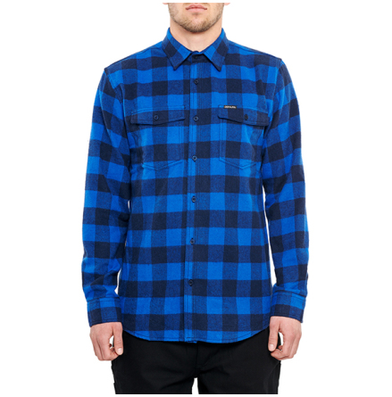 DePalma Workwear Buffalo Skjorta Dazzling Blue