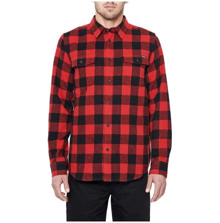 DePalma Workwear Buffalo Skjorta Red
