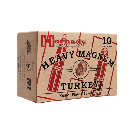 Hornady 12 Heavy Magnum Nickel US6