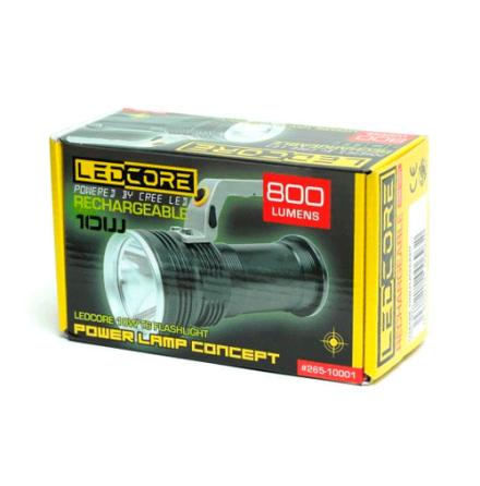 Ledcore 10W 800 Lumen rechargeable