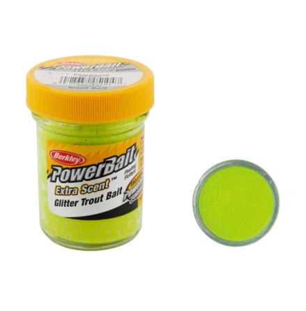 PowerBait Glitter Trout Bait Chartreuse