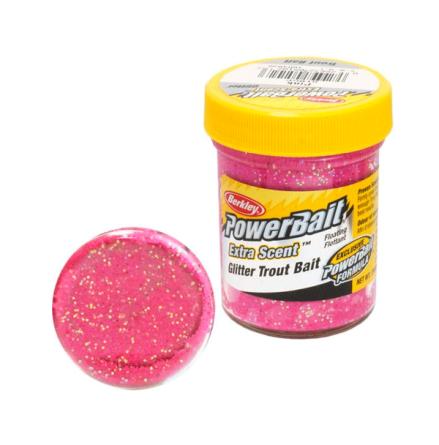 PowerBait Glitter Trout Bait Pink