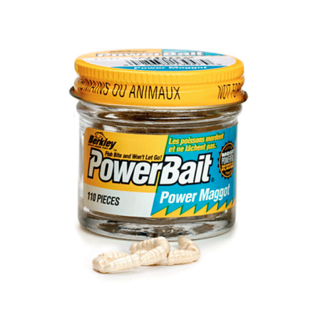 PowerBait Micro Maggot White