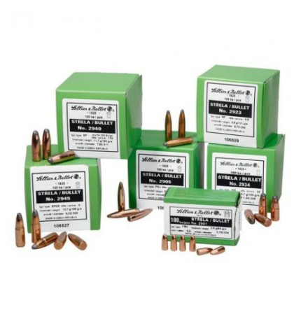 Sellier & Bellot Kula 6,5 124gr FMJ 500-pack